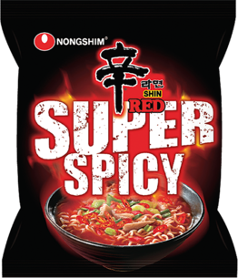 Shin Red Super Spicy 120g NONG SHIM