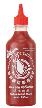 Sriracha-kastike super hot 455 ml FLYING GOOSE