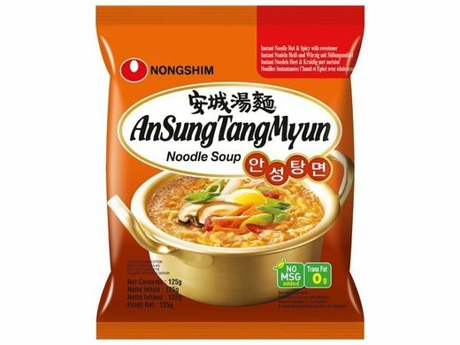 Ansungtangmyun nuudeli 20x125g NONG SHIM