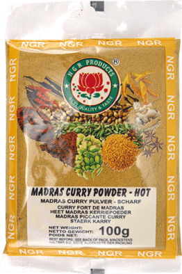Madras Curry -jauhe 100g NGR