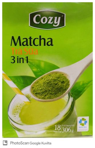 Matcha maitotee 306g EVER SPRING TEA
