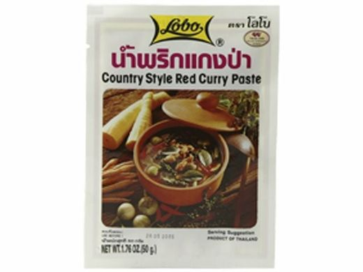 "Punainen curry ""Country Style"" 50g LOBO"
