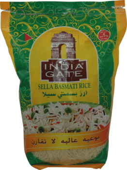 Sella Basmatiriisi 1kg INDIA GATE